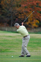 Golfer Recovered from Rotator Cuff Repair